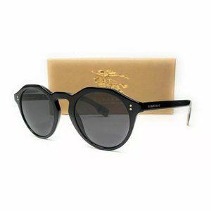 Burberry Men's Black Polarized Sunglasses!